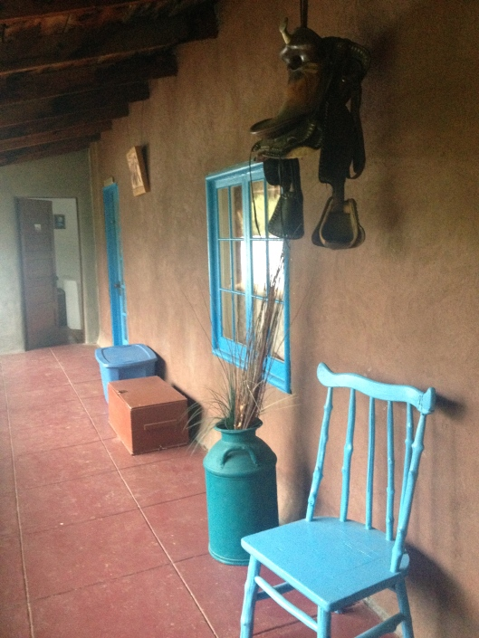 Chair on portal